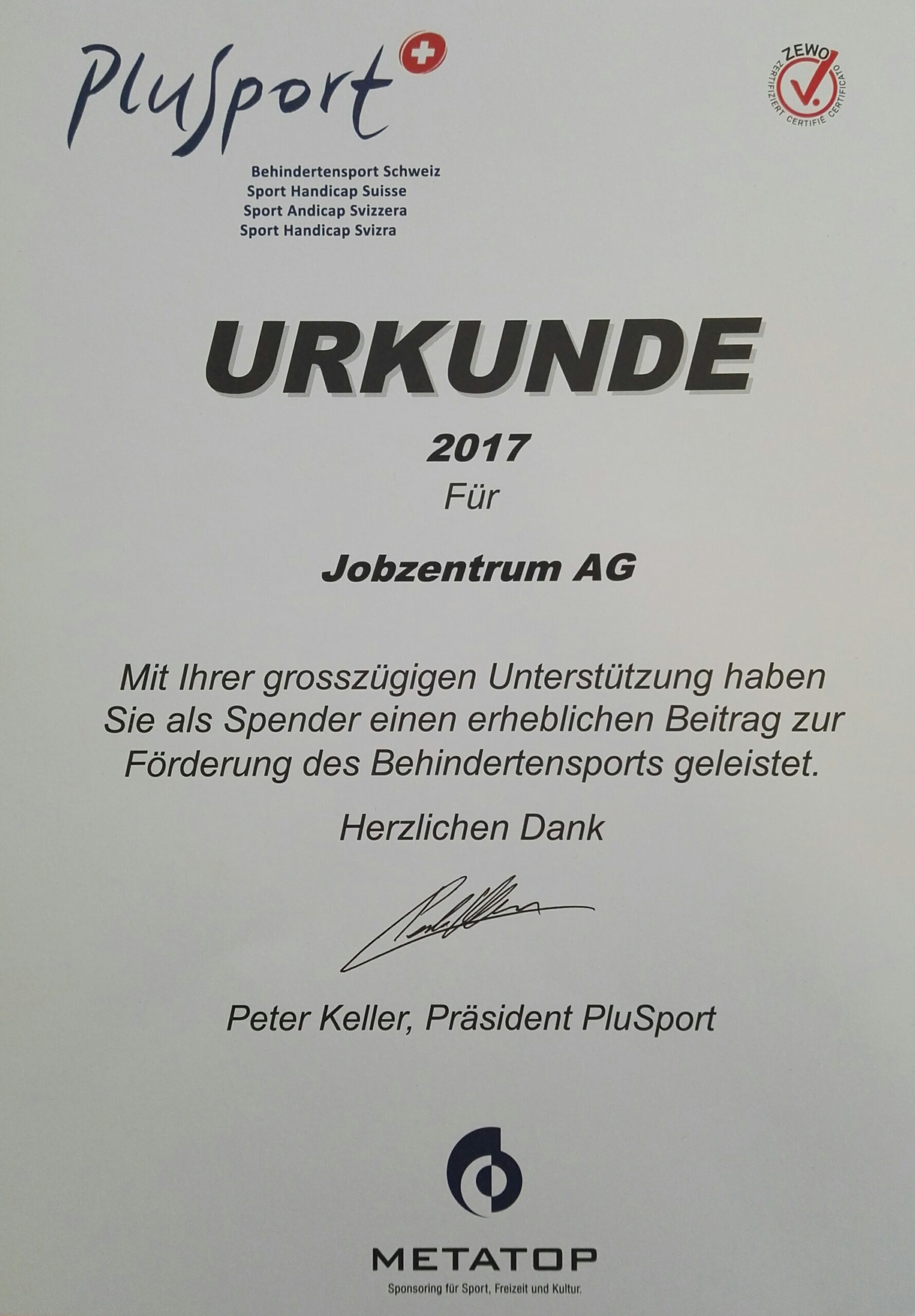Read more about the article Förderung des Behindertensports
