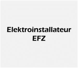 Elektroinstallateur EFZ weiss