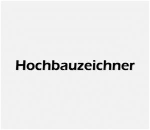 Hochbauzeichner weiss
