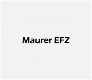 Maurer EFZ weiss
